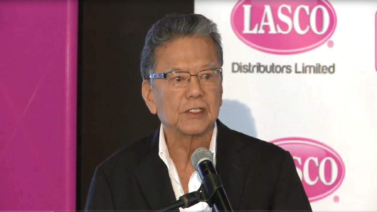 Executive Chairman of Lasco Distributors Limited, Lascelles Chin.