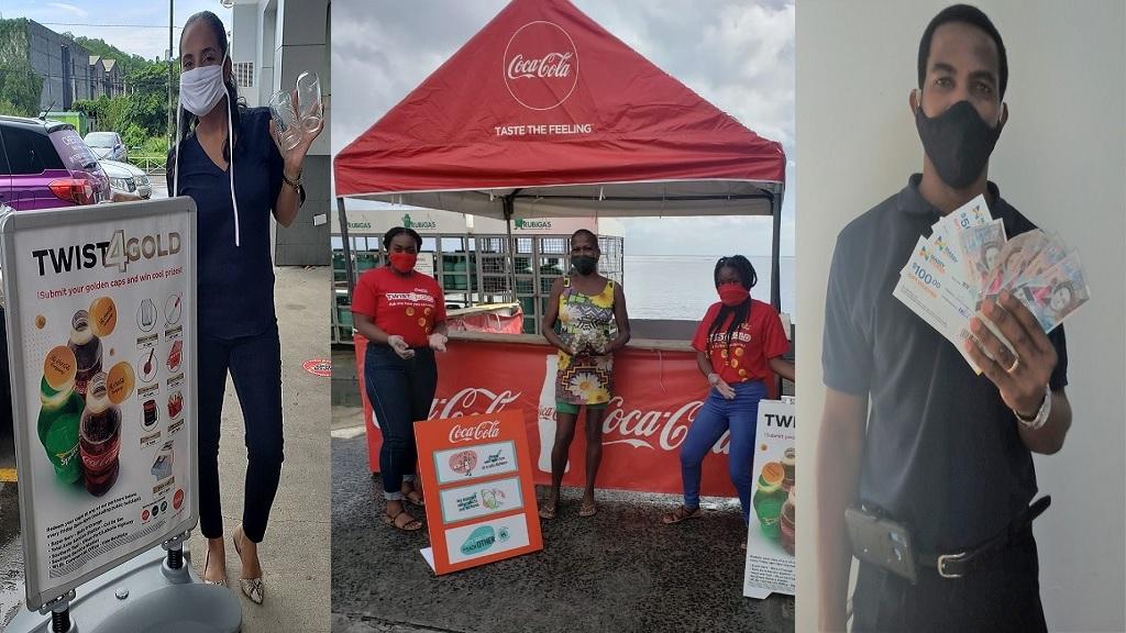 Coca Cola Twist 4 Gold winners
