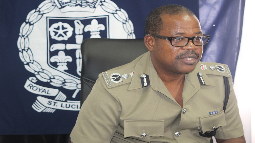 Police Commissioner Severin Moncherry
