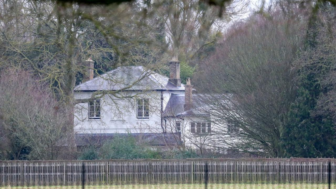 In this Jan. 14, 2020 file photo, a general view of Frogmore Cottage on the Home Park Estate, Windsor. Prince Harry has repaid 2.4 million pounds ($3.2 million) in British taxpayers' money that was used to renovate the home intended for him and his wife Meghan before they gave up royal duties. A spokesman on Monday, Sept. 7, 2020 Harry has made a contribution to the Sovereign Grant, the public money that goes to the royal family. (Steve Parsons/PA via AP, file)