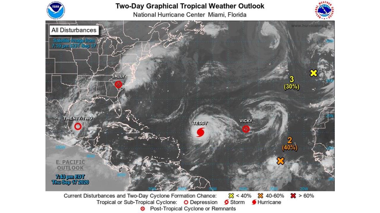 Watching Tropical Storm Beta in the Gulf