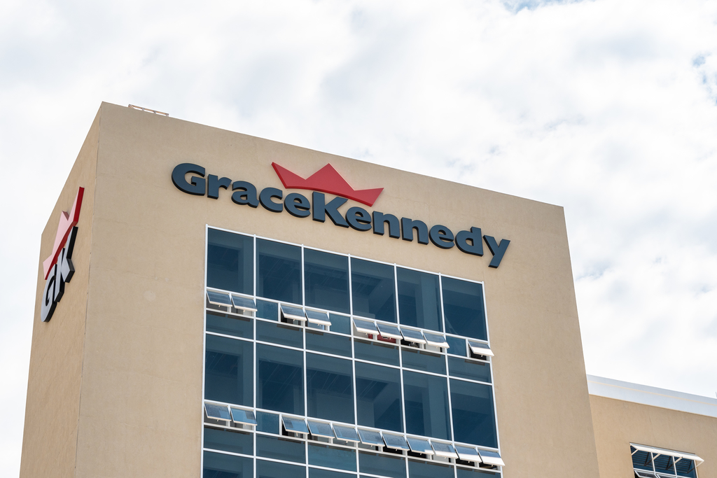 GraceKennedy's headquarters on Harbour Street in downtown Kingston.
