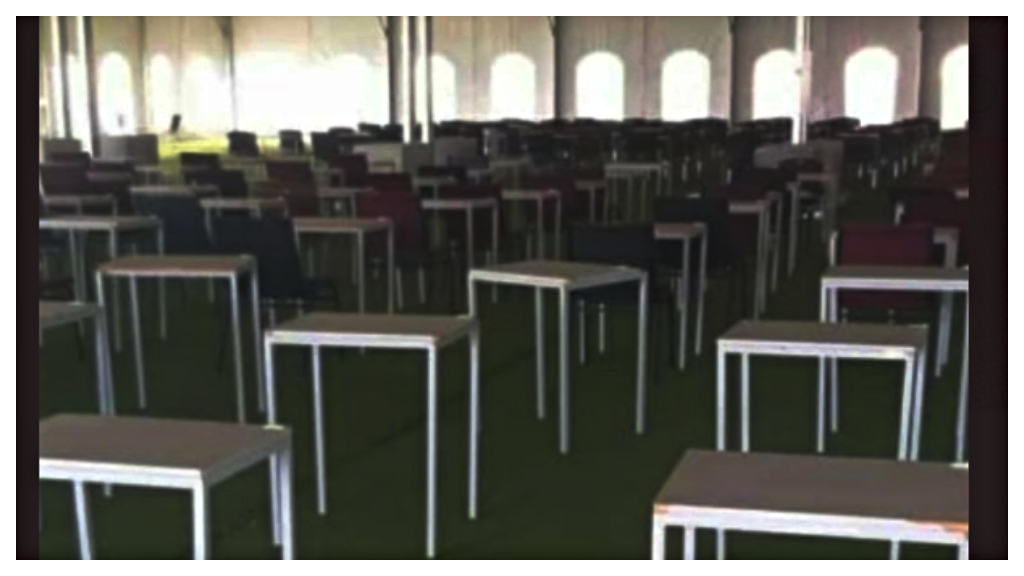 "On Twitter, someone tweeted this photo and said: if yall seeing a class labelled as ""TENT"" this is where you at fam."