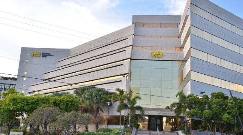File photo of the NCB Atrium, NCB's head office in Kingston.