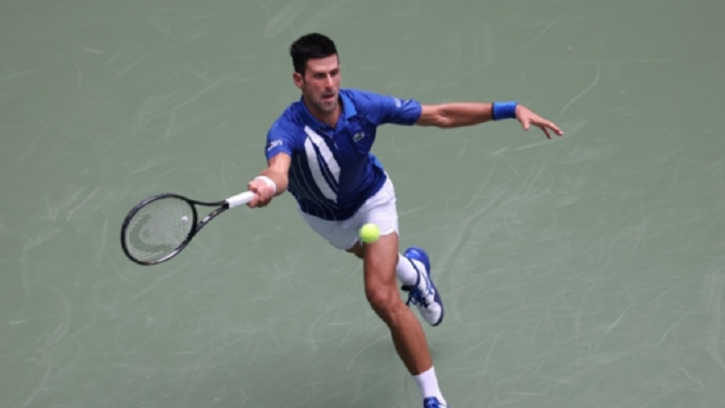 Novak Djokovic at the US Open.