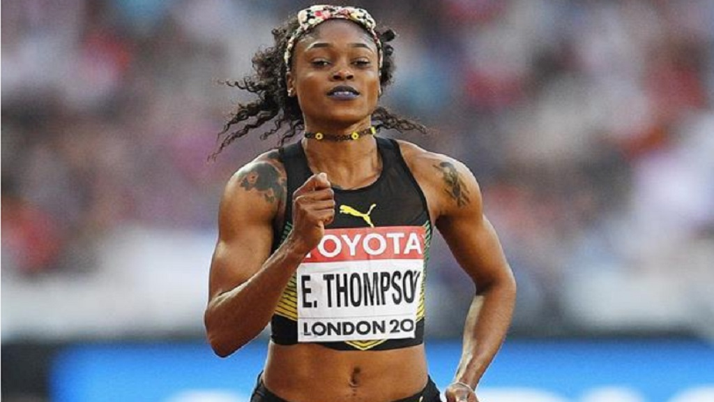 Elaine Thompson-Herah.