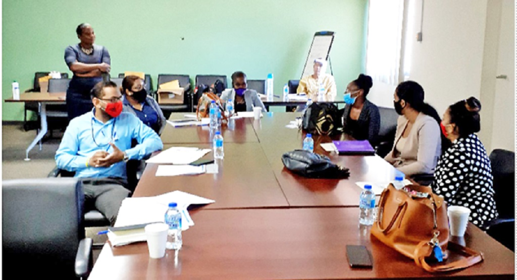 Employees participate in the Ministry's Staff Training Workshop to improve customer service.