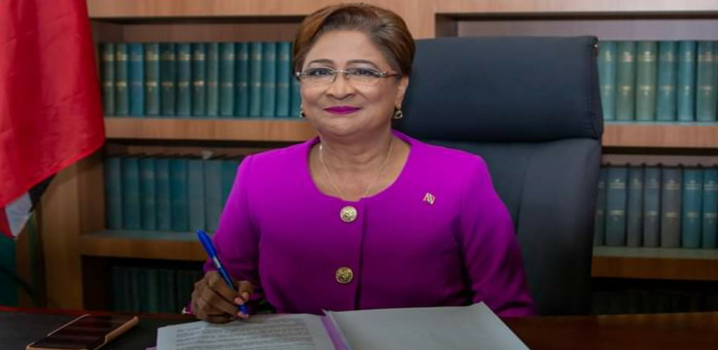 Pictured: Opposition Leader, Kamla Persad-Bissessar