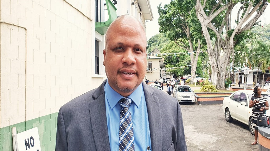 Minister for Physical Planning and Parliamentary Representative for Soufriere Herod Stanislas