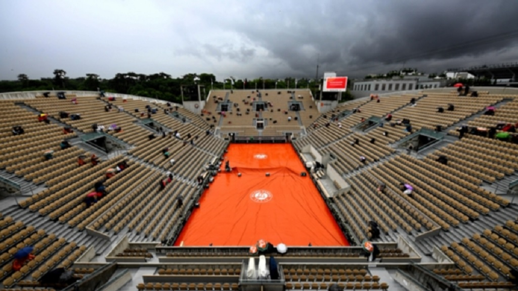 Stade Roland Garros in Paris, France, the venue for the French Open.