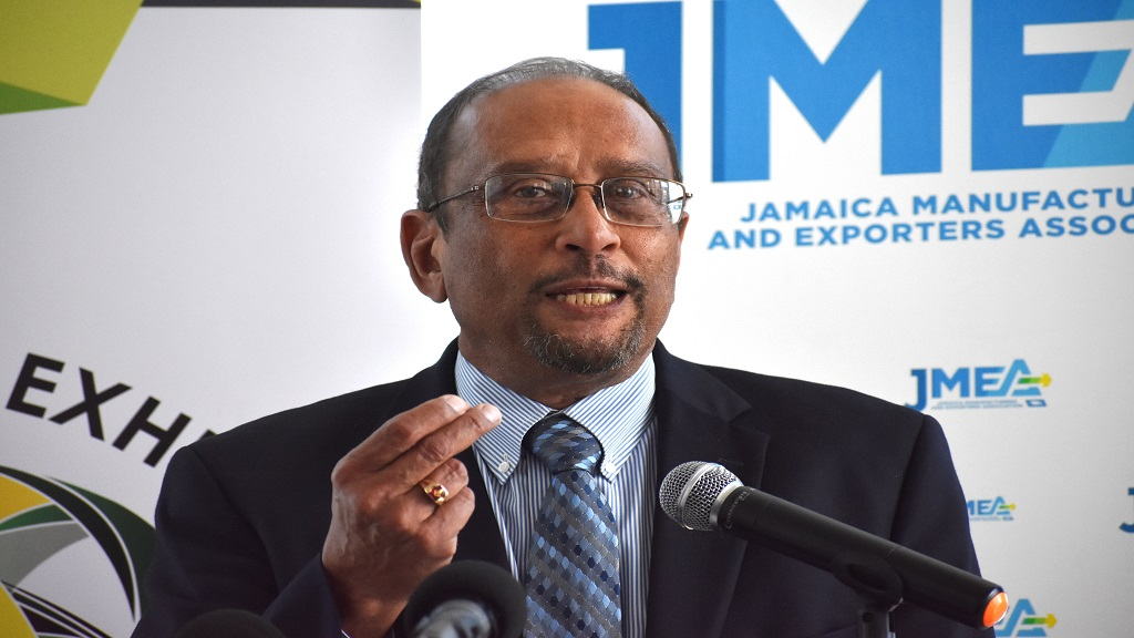 President of the Private Sector Organisation (PSOJ) Howard Mitchell.