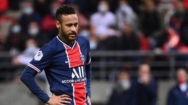 Neymar était le plus gros débiteur du fisc espagnol au 31 décembre 2019. − FRANCK FIFE / AFP