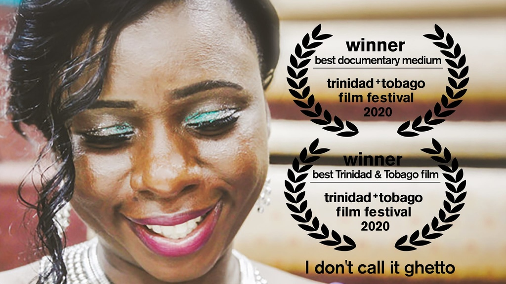 I Don't Call It Ghetto won the Best Trinidad and Tobago FIlm and Best Documentary Film, Medium Length at the Trinidad and Tobago FIlm Festival.