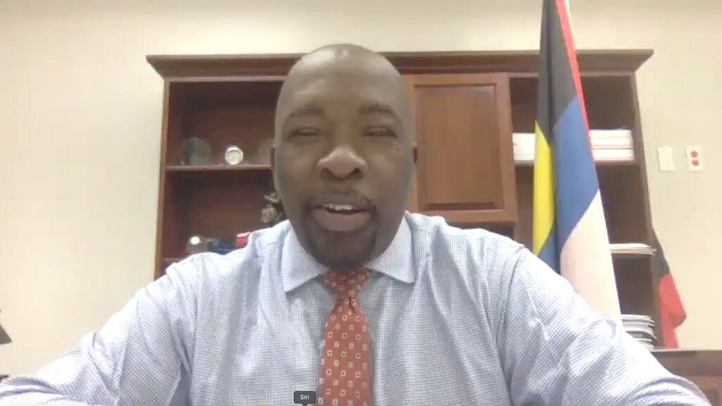 Melford Nicholas, Minister for Information, Broadcasting, Telecommunications and Information Technology, represents Antigua and Barbuda as head of the Caribbean Telecommunications Union