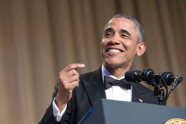Le président américain Barack Obama lors de son dernier dîner d'État, à la Maison-Blanche, le 30 avril 2016. Photo d'archives AFP