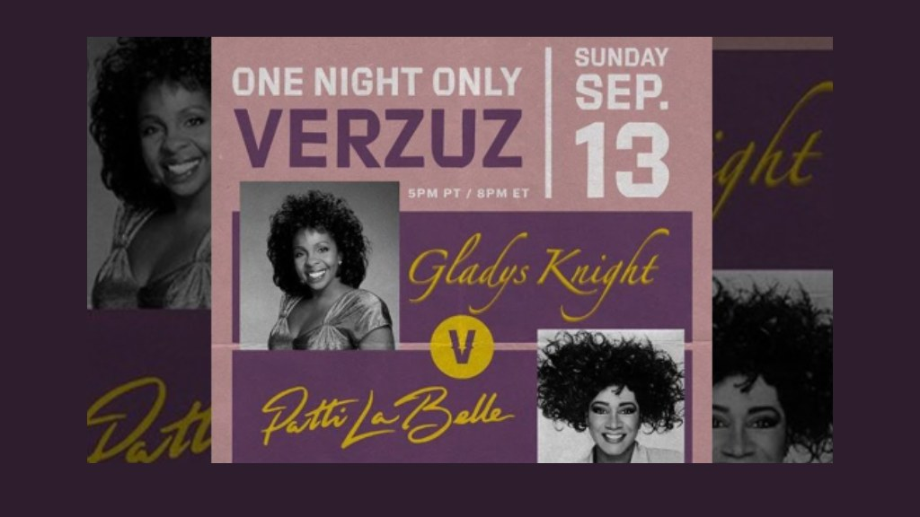 Verzuz with Gladys Knight and Patti Labelle