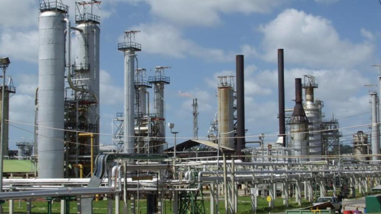 Photo: Petrotrin Pointe-a-Pierre refinery.