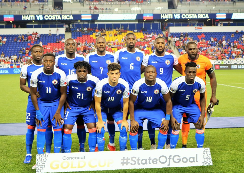 la selection haitienne de Football. Photo: Gold Cup