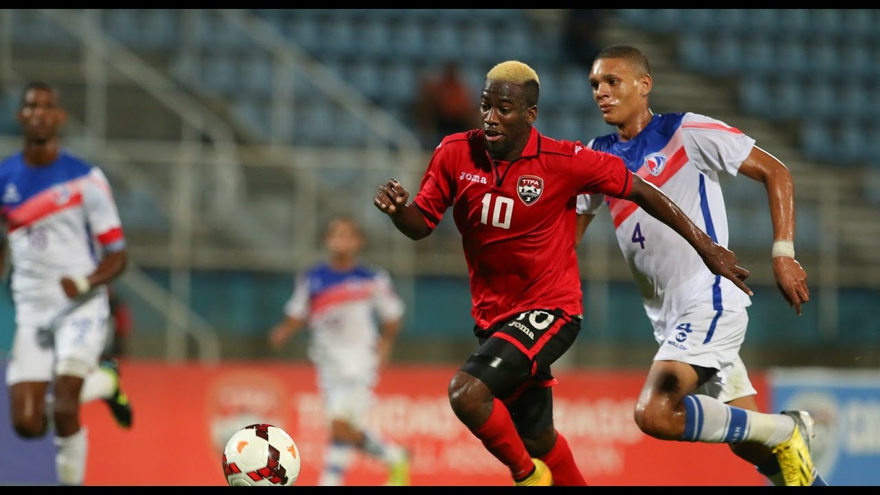 T&T and Minnesota United FC star Kevin Molino in action for the Trinidad and Tobago national team
