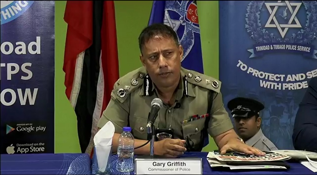 Commissioner of Police, Gary Griffith.