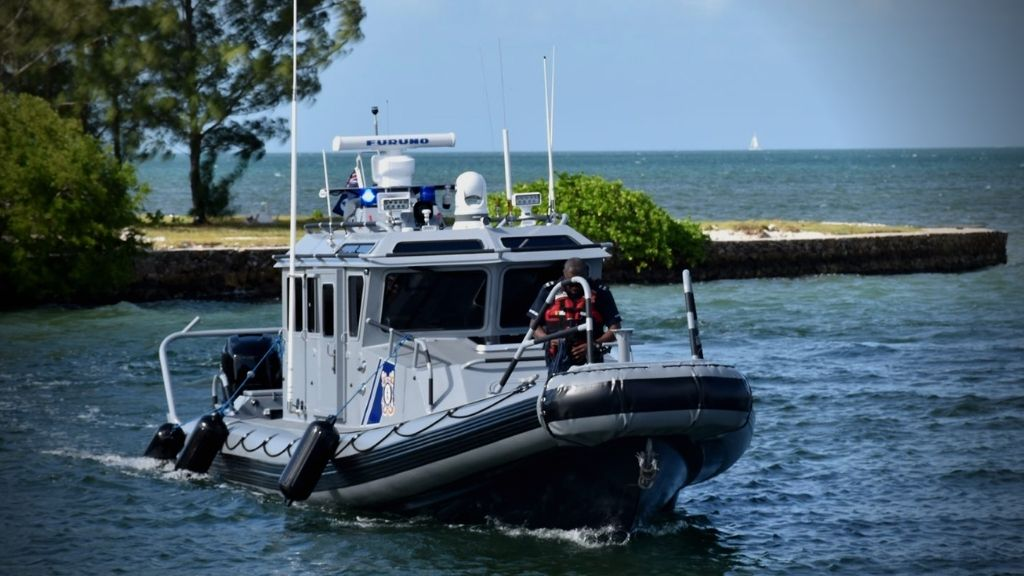 The Cayman Islands Coast Guard
