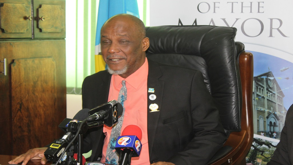 Castries Mayor Peterson Francis.
