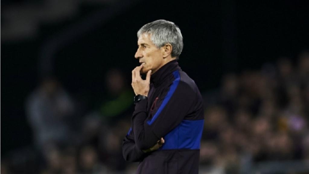 Former Barcelona boss Quique Setien.