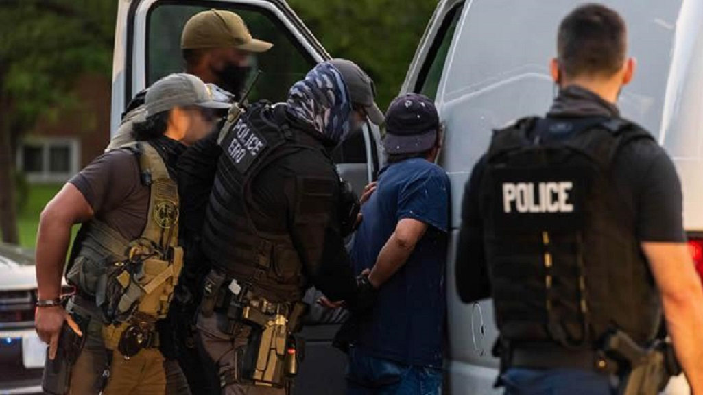 Photo via US Immigration and Customs Enforcement (ICE).
