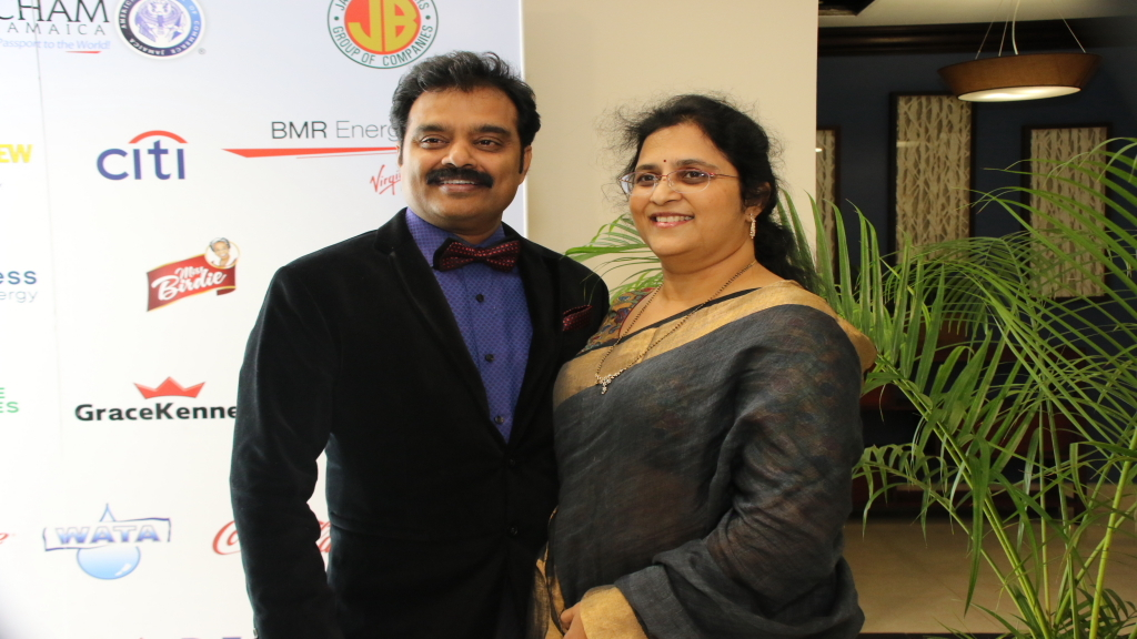 Chairman and CEO of Indies Pharma, Dr Guna Muppuri and his wife Vishnu, who serves as Co-Founder, Chief Operations Officer at Indies Pharma.