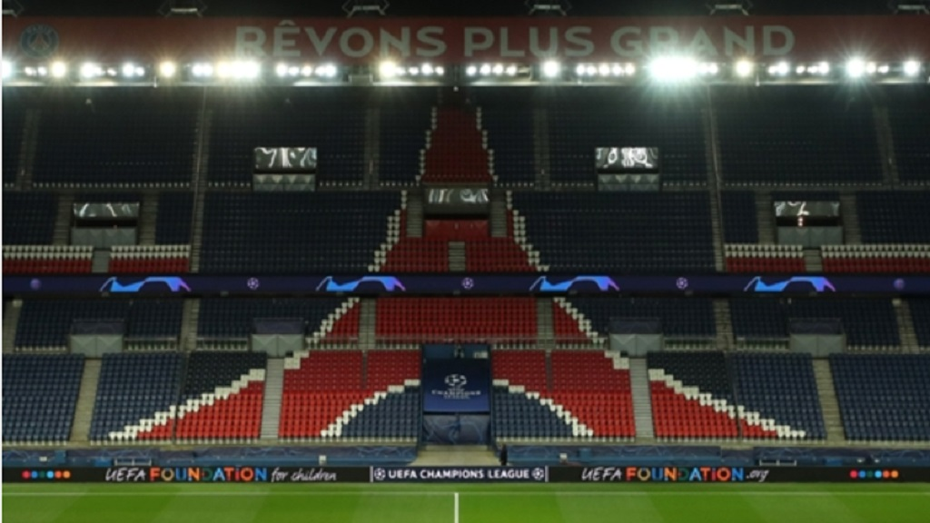 A view of PSG's stadium.