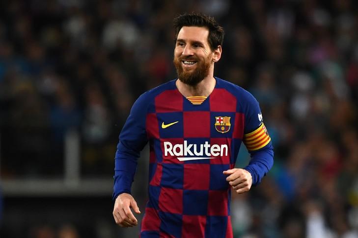 Lionel Messi avec le Barça, lors du dernier clasico contre le Real Madrid disputé au stade Santiago Bernabeu, le 1er mars 2020 GABRIEL BOUYS AFP/Archives
