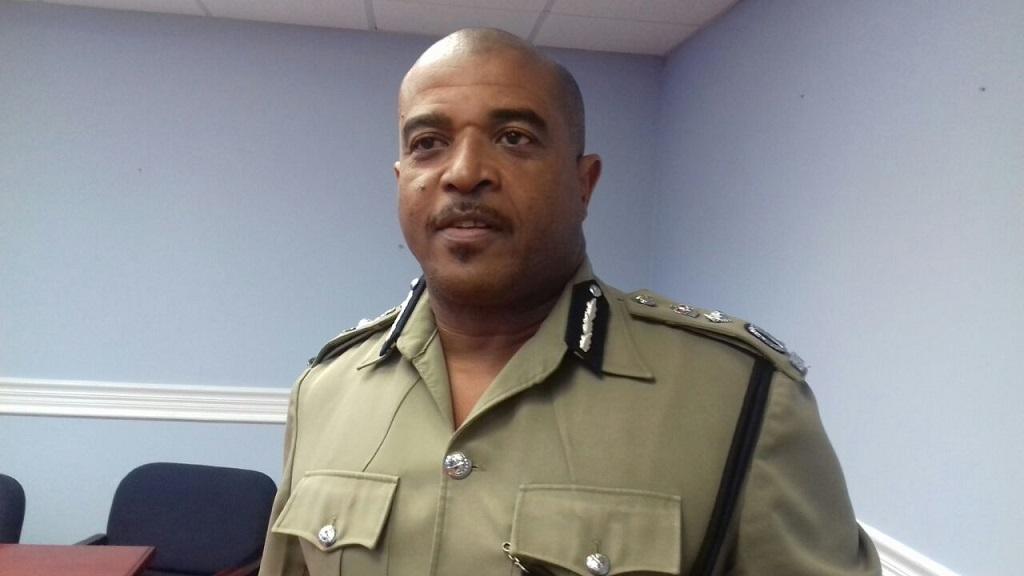 Acting Police Commissioner Milton Desir