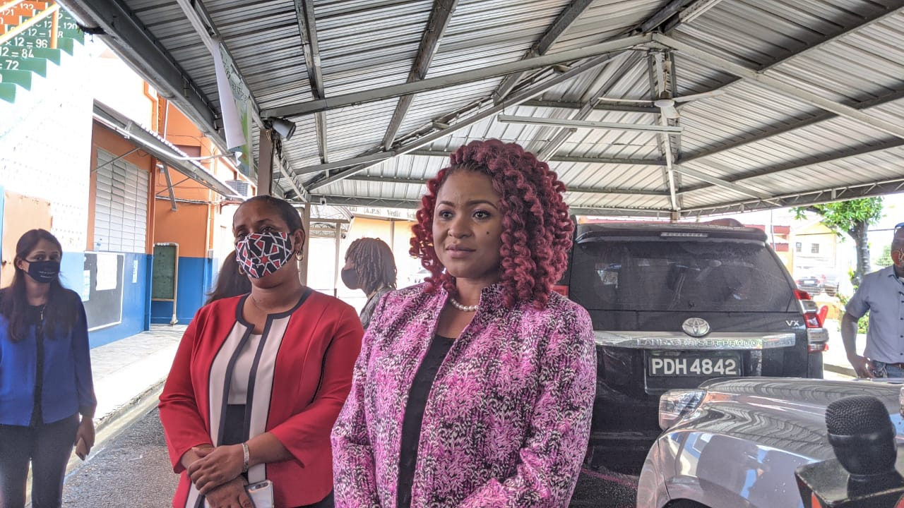 Education Minister Dr Nyan Gadsby-Dolly. (Photo: File)