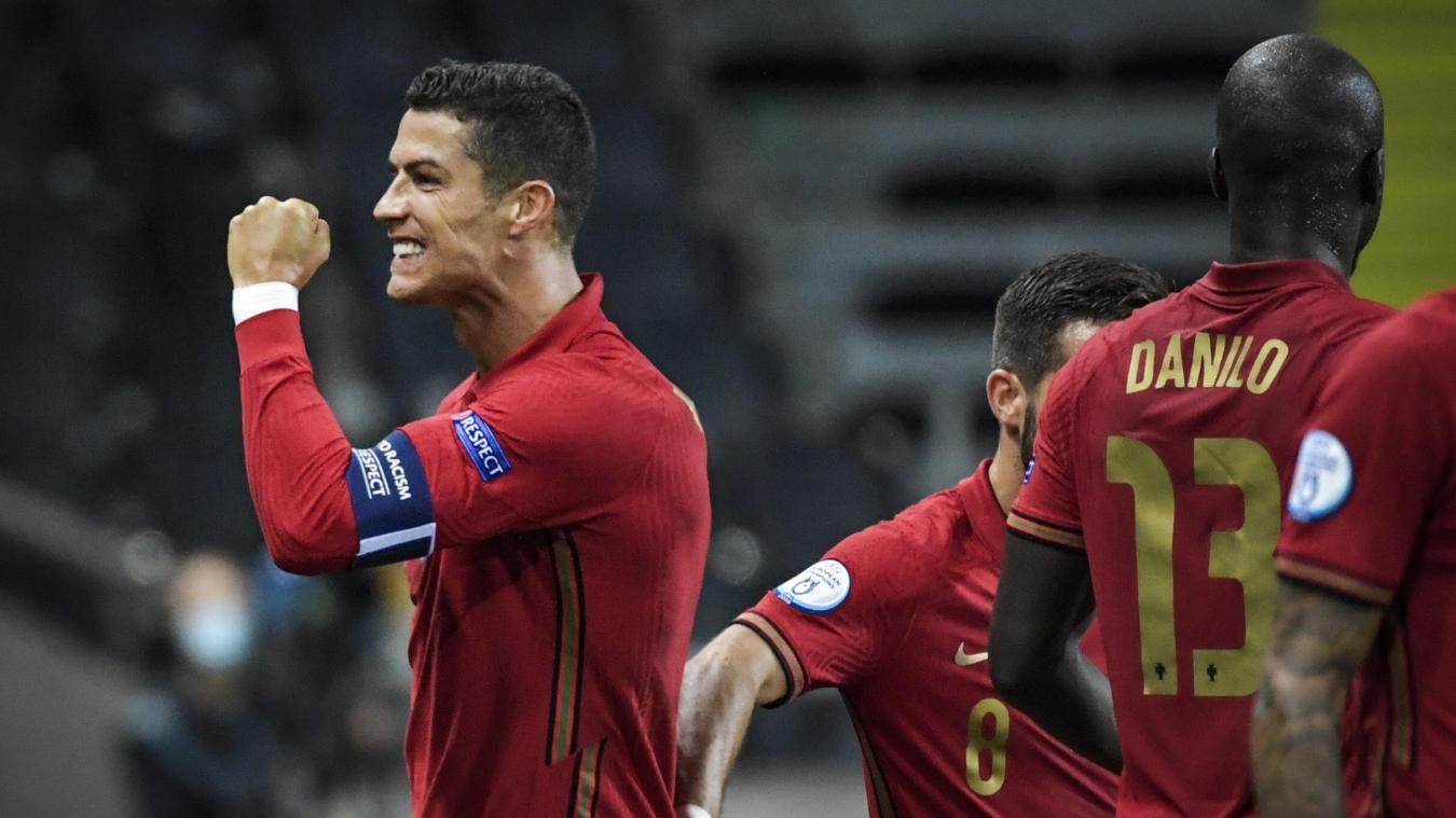 LDN: le Portugal domine la Suède, Ronaldo passe la barre des 100  Photo : APA