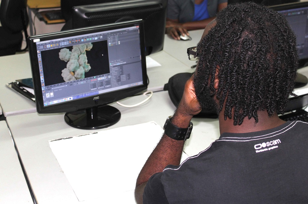Animation training in St Vincent and the Grenadines.