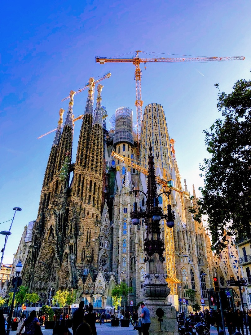 La Sagrada Familia, Barcelone, Espagne/ Par Regina Farrell (SheMayGo sur IG)