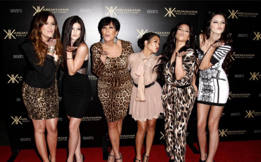 In this Aug. 17, 2011 file photo, from left, Khloe Kardashian, Kylie Jenner, Kris Jenner, Kourtney Kardashian, Kim Kardashian, and Kendall Jenner arrive at the Kardashian Kollection launch party in Los Angeles.. (AP Photo/Matt Sayles, file)