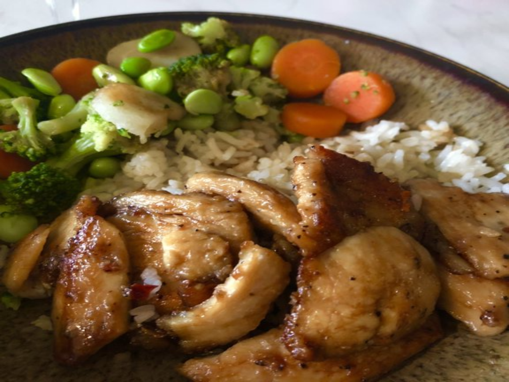 Photo: Simple sauteed sesame chicken. Credit: AllRecipes.