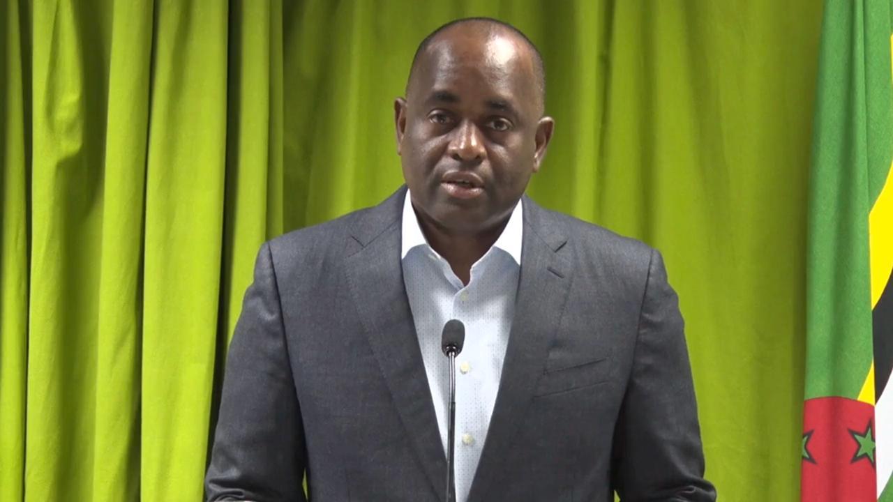 Prime Minister Dr Roosevelt Skerrit