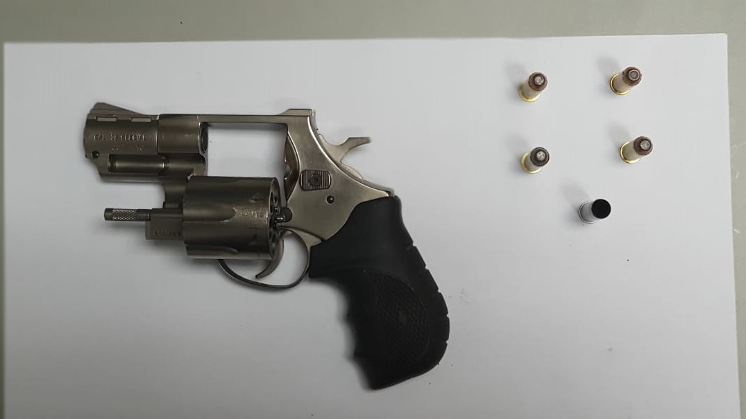 A .38mm revolver loaded with four rounds of ammunition was found in the possession of a man who was killed by police.