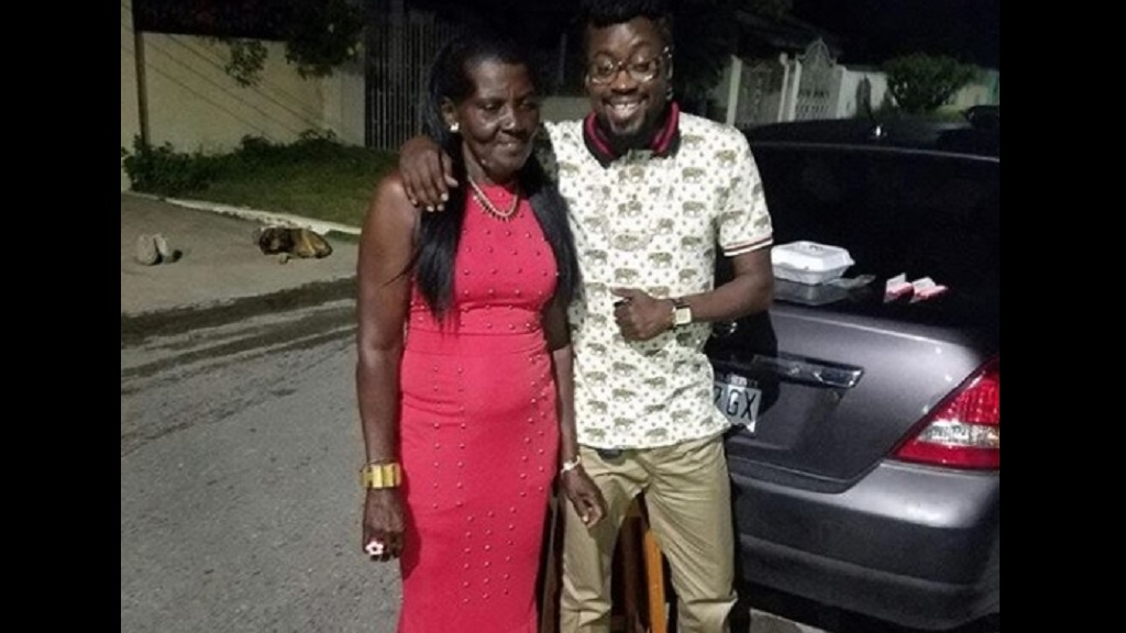 Beenie Man and Mama Lilieth in happy times. (Photo: Contributed)