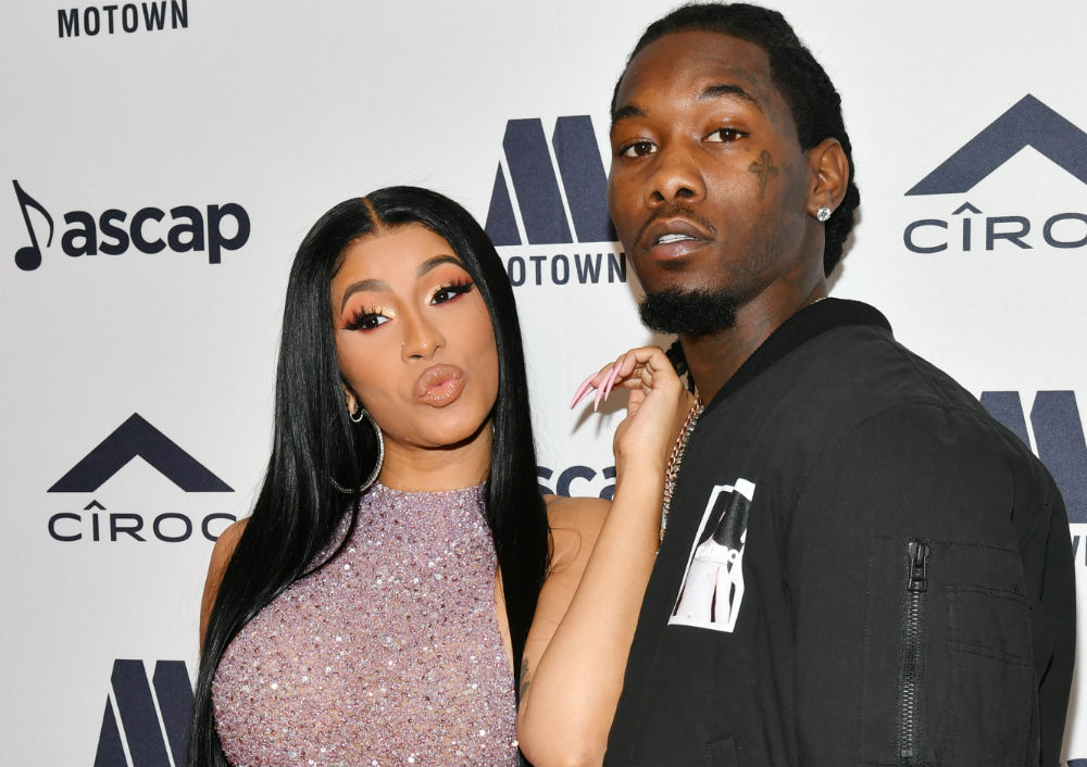 Cardi B et son mari Offset/ PhotO: AFP
