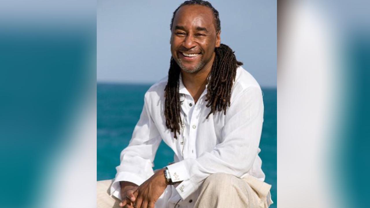 Eric Jerome Dickey. Antigua, circa 2006.