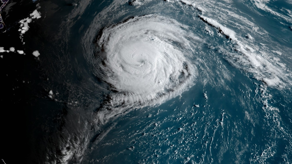 Hurricane Paulette. Photo: National Hurricane Centre