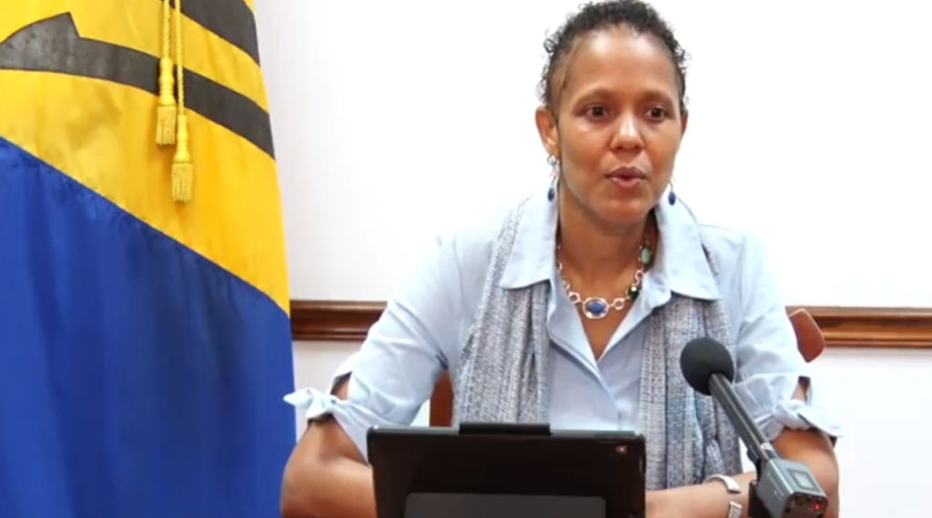 Minister of Education, Technological and Vocational Training Hon Santia Bradshaw