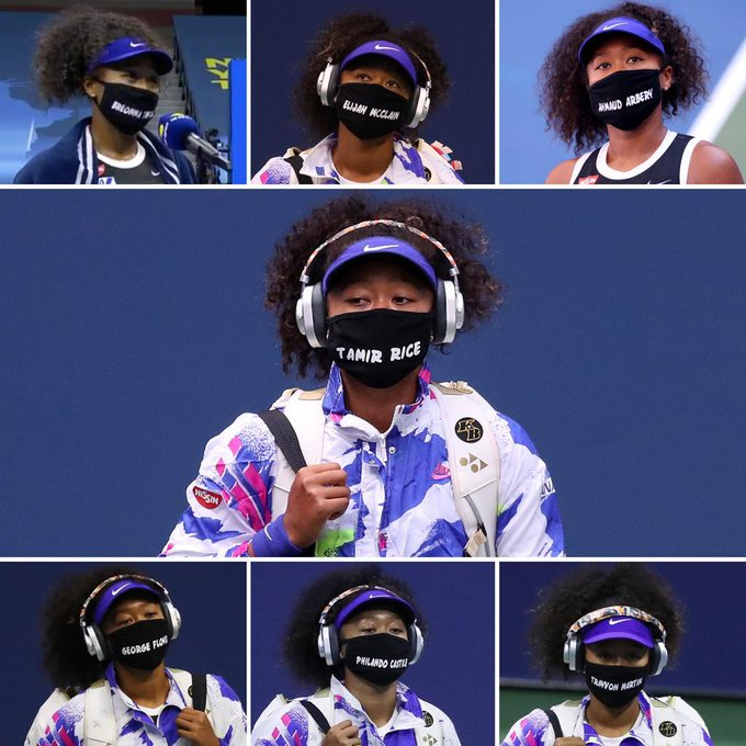 Collage/ US Open