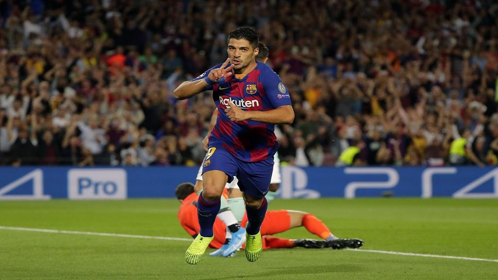 Barcelona star Luis Suarez.