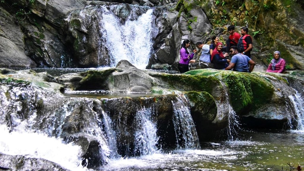 The T&T I See: Relaxing waters of Aripo Waterfall