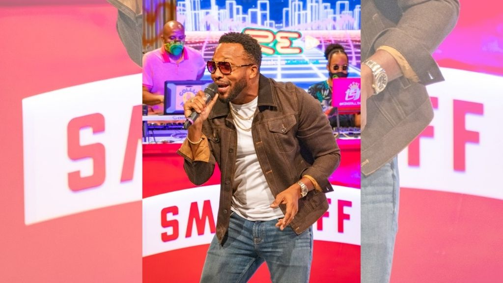Agent Sasco's performance at Saturday's Smirnoff Fame Frequency virtual party left everyone talking. (Photos: Contributed)