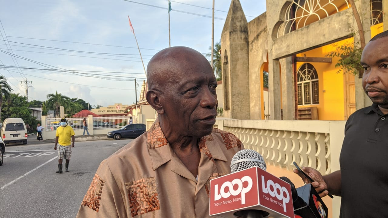 After casting his vote, Jack Warner says he intends to spend the rest of the day reading and watching Western movies. (Photo: Nneka Parsanlal)